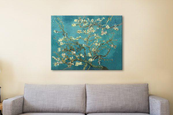 Blossoming Almond Tree Van Gogh Canvas Artwork