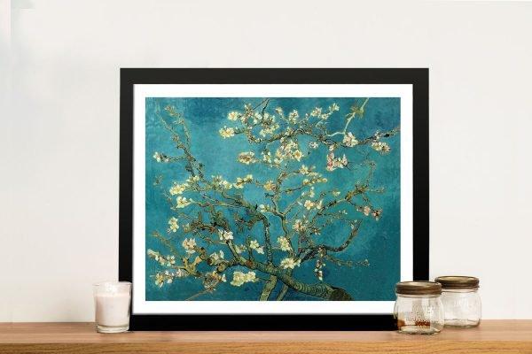 Blossoming Almond Tree Van Gogh Art