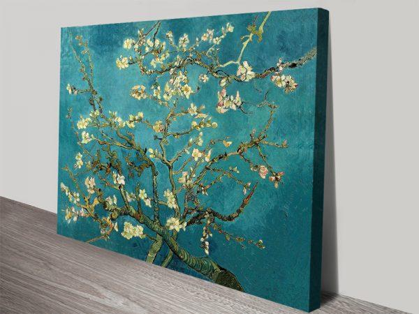 Blossoming Almond Tree Van Gogh Canvas Print