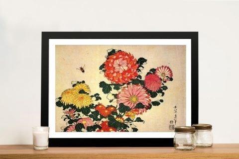 Framed Traditional Japanese Wall Art