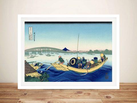 Buy Hokusai Japanese Canvas Prints Online