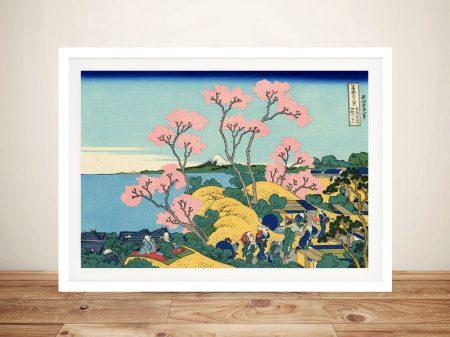 The Fuji from Gotenyama Classic Japanese Art