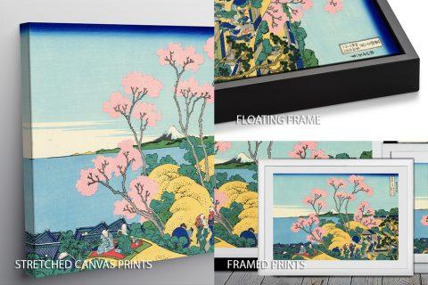 Hokusai The Fuji from Gotenyama Quality Print