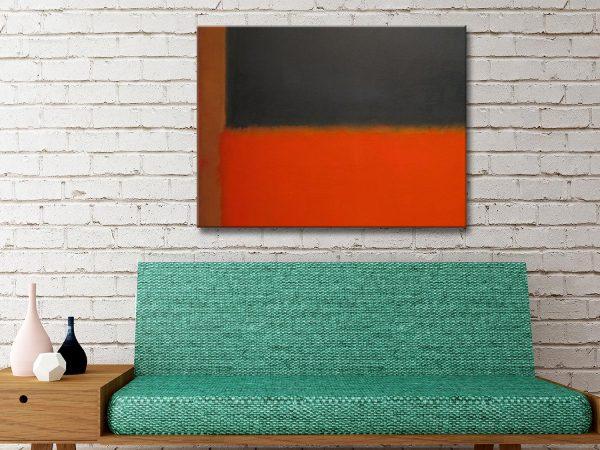 Buy Mark Rothko Canvas Artwork
