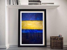 Buy Mark Rothko Blue and Yellow Painting Print