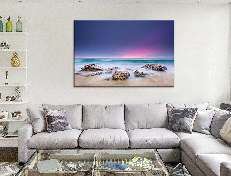 Purple Hued sunset Canvas Artwork