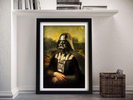 Vader Lisa Framed Star Wars Wall Art