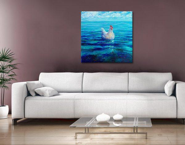 Chicken of the Sea Canvas Artwork
