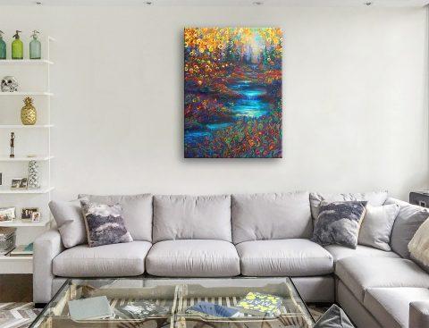 Glens Glen Iris Scott Wall Art Canvas Paintings