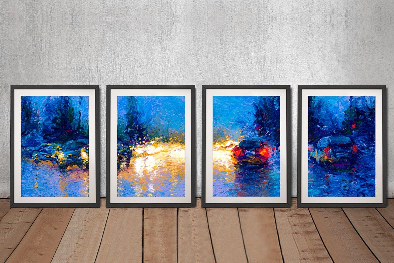Buy a Market Street 4-Piece Art Set Online