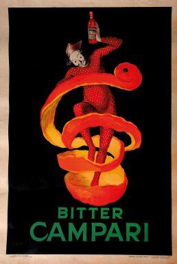 Leonetto Cappiello Bitter Campari Canvas Print Vintage Poster Wall Art