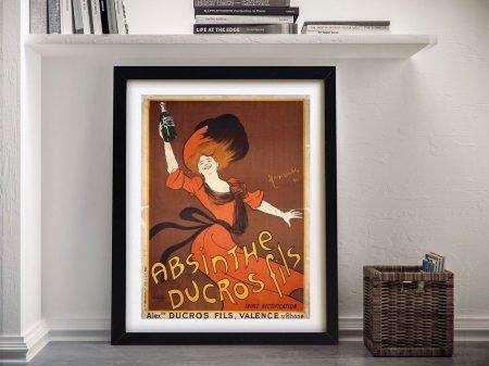 Absinthe Ducros Framed Wall Art