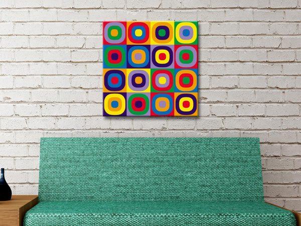Buy Circles Canvas Art Home Decor Ideas AU
