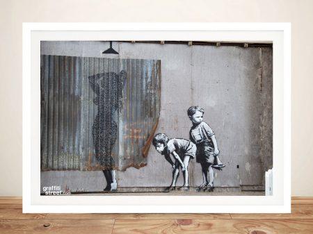 Buy Innocent Kids Banksy Canvas Wall Art