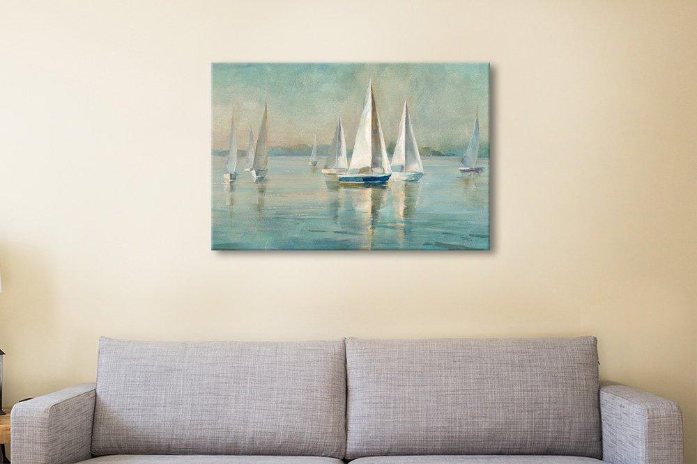 Sailboats at Sunrise Art Home Decor Ideas AU