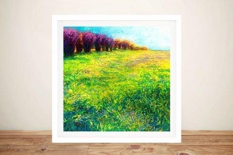 Aspens in Jackson Framed Iris Scott Art