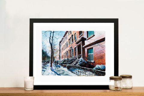 Brooklyn Heights Bob Dylan Framed Wall Art