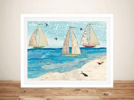 Buy Sailing the Seas Courtney Prahl Wall Art