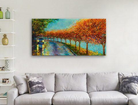 Colourful Iris Scott Canvas Art for Sale