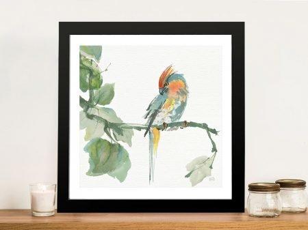 Crested Cockatoo Artwork
