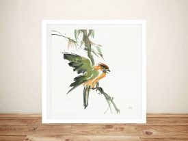 Formosan Firecrest Artwork
