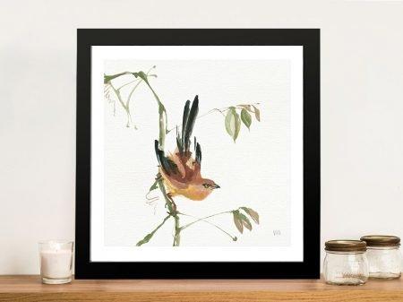 Mountain Bush Warbler Artwork