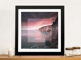 Étretat in Focus Canvas Wall Art