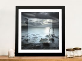 Over the Horizon in Focus Framed Wall Art