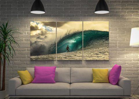 Pipeline 3-Piece Canvas Set Home Decor AU
