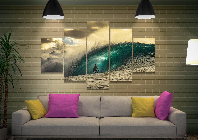 Pipeline 5-Panel Canvas Art Set for Sale