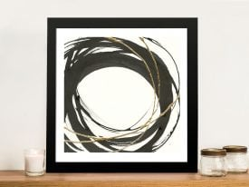 Gilded Enso III Chris Paschke Wall Art