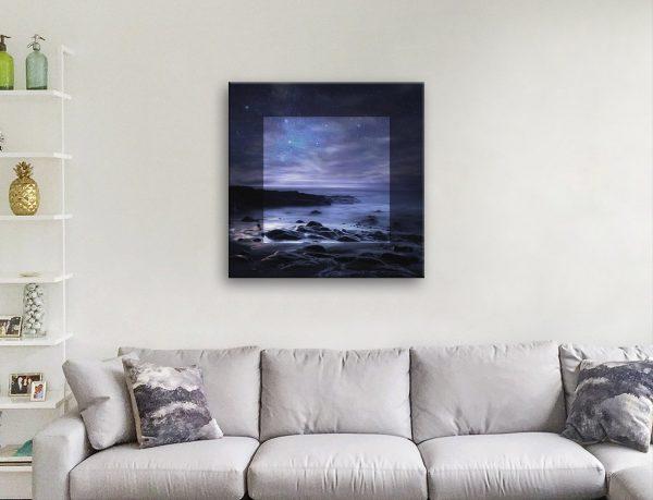 Starry Sky in Focus Artwork for Sale Online