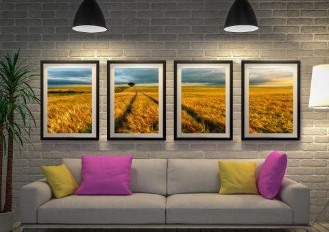 The Wheat Path Quad Art Set Gift Ideas AU