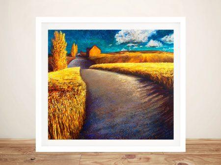 Buy Whispering Wheat Landscape Artwork
