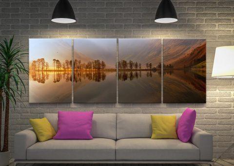 Affordable Landscape Split-Canvas Art Sets