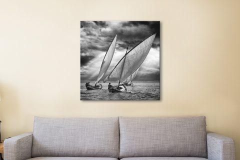 Sailing Boat Canvas Print