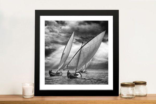 Sail Boat Framed Wall Art