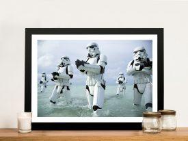 Assault on Kamino Star Wars Art