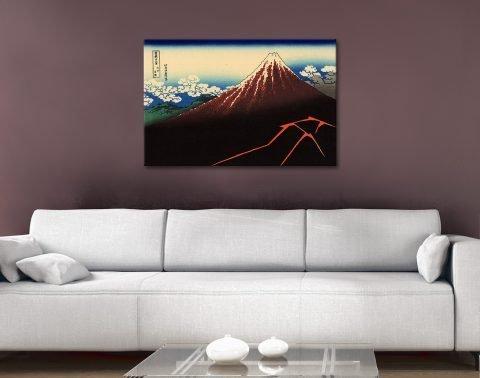 Ready to Hang Hokusai Wall Art Queensland