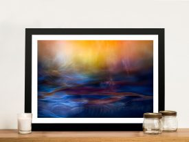 Inner Peace Abstract Framed Wall Art Picture