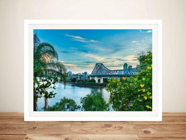 Brisbane Bridge View Noel Buttler Artwork