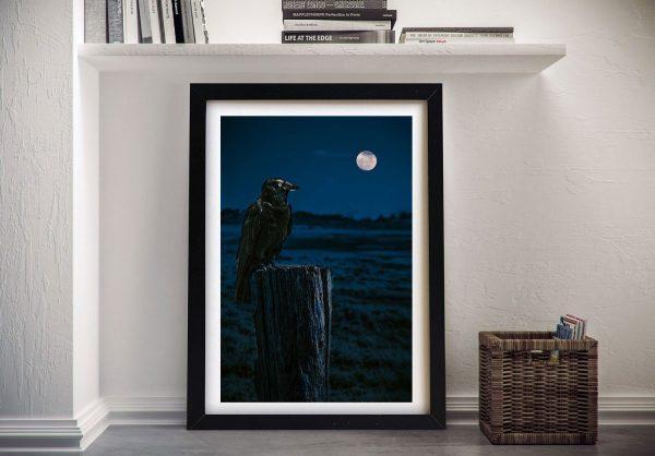 Crowmoon Wall Art by Noel Buttler
