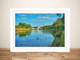 Print of Melbourne River by Noel Buttler