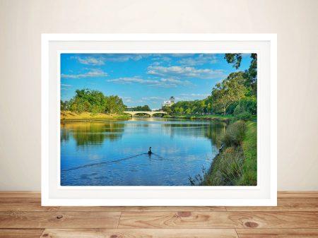 Print of Melbourne River by Noel Buttler