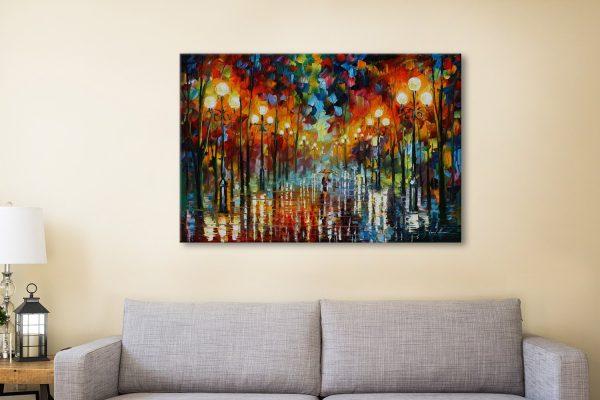 Leonid Afremov Canvas Wall Art Prints for Sale