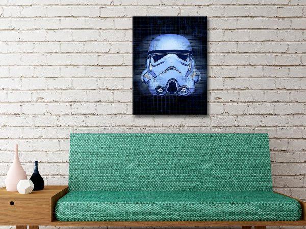 Stormtrooper blueprint art
