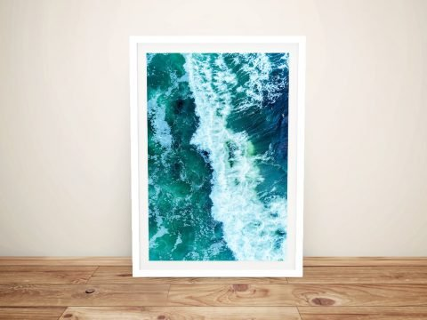 Avalon Surf Break Framed Wall Art