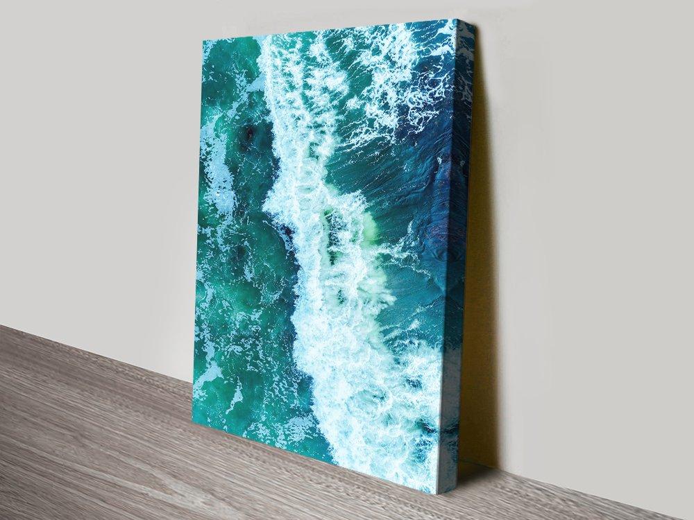 Surf Break Wall Art Unique Home Decor