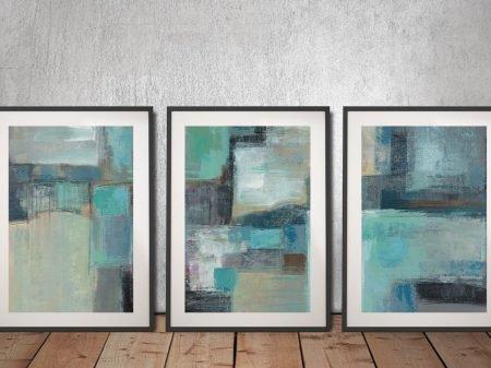 Buy Sea Foam a Silvia Vassileva Triptych Set