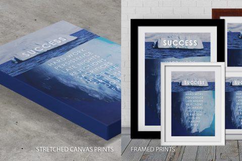 Success Iceberg-Quote Artwork Quality nPrint